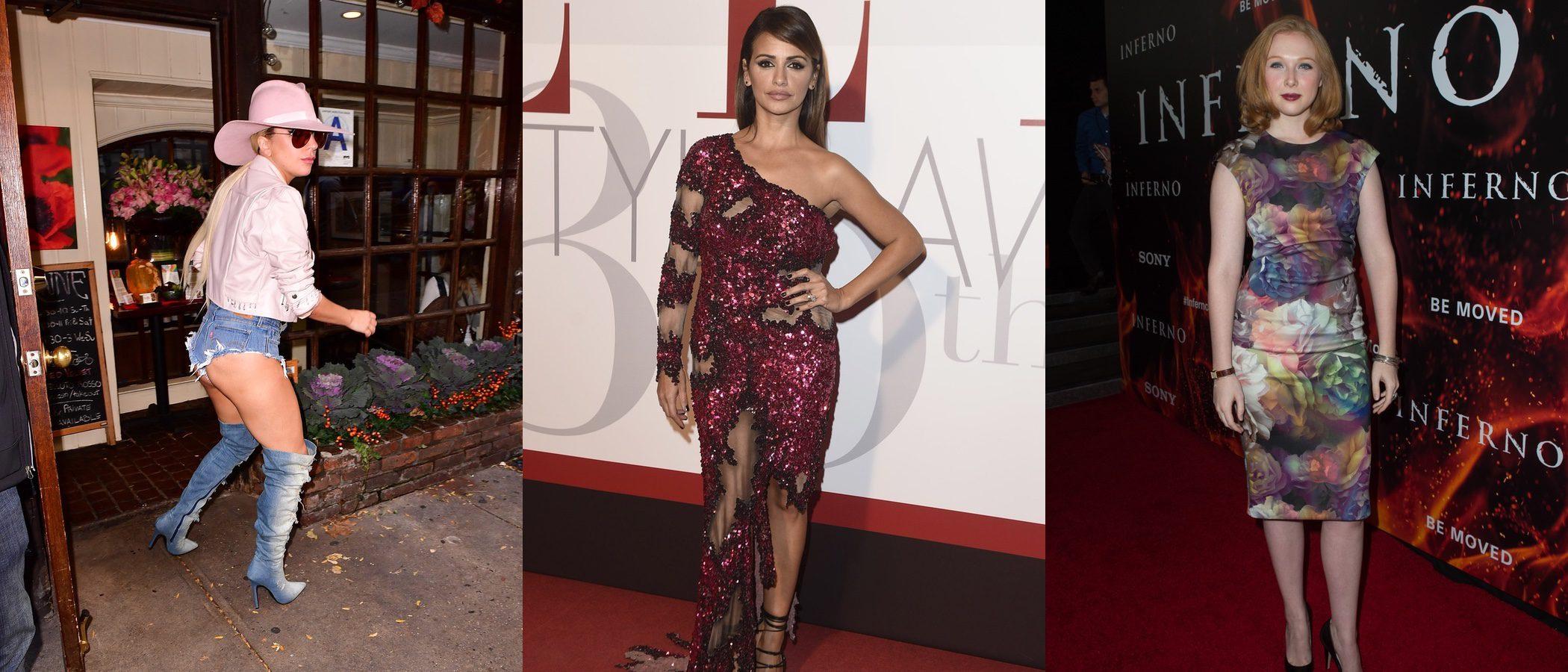 Lady Gaga, Mónica Cruz y Molly Quinn encabezan la lista de las peor vestidas de la semana