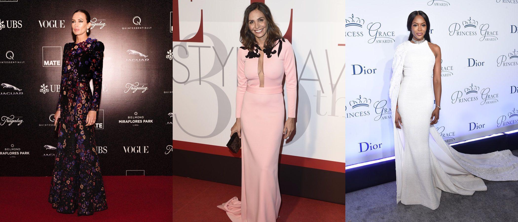 Inés Sastre, Naomi Campbell y Nieves Álvarez triunfan entre las mejor vestidas de la semana