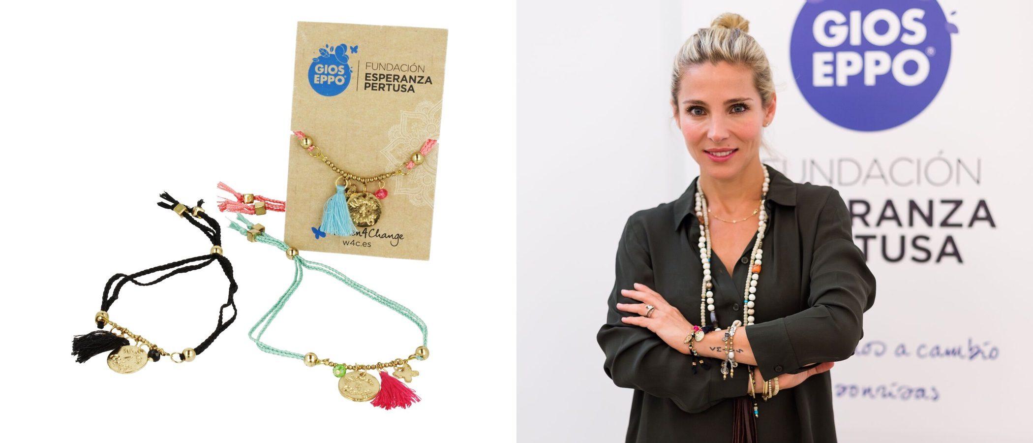 Gioseppo y Elsa Pataky presentan una pulsera para ayudar a las mujeres sirias refugiadas