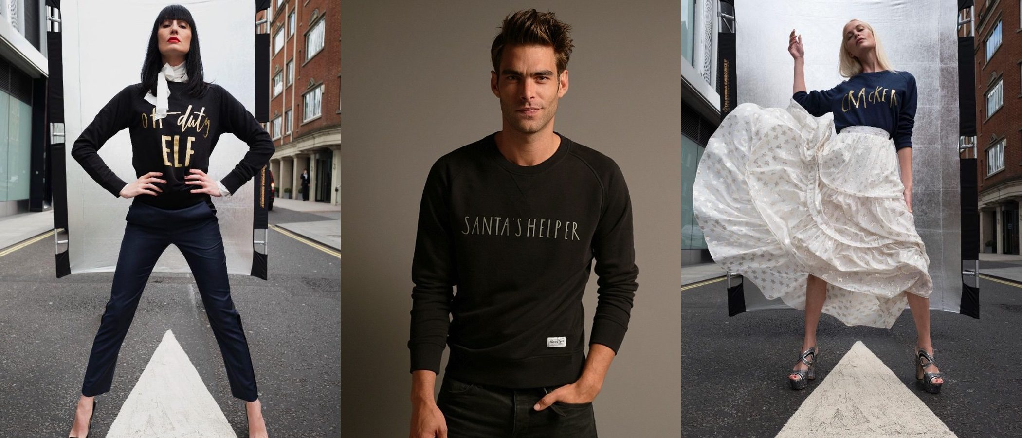 Save The Children lanza jerseys navideños diseñados por Poppy Delevingne y Jon Kortajarena