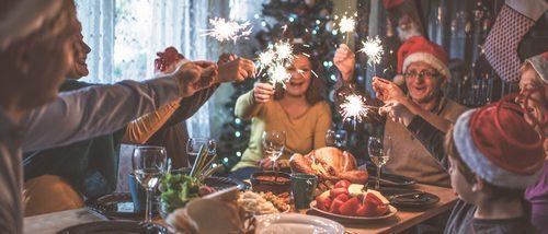 Cómo vestirse para la comida de Año Nuevo