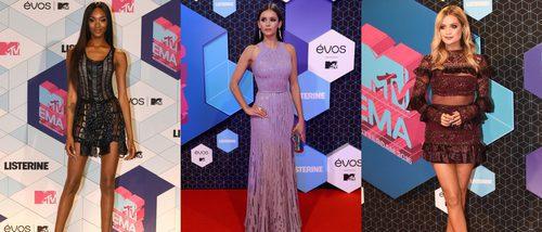 Nina Dobrev, Laura Whitmore y Jordan Dunn, entre las mejor vestidas de los MTV EMA 2016