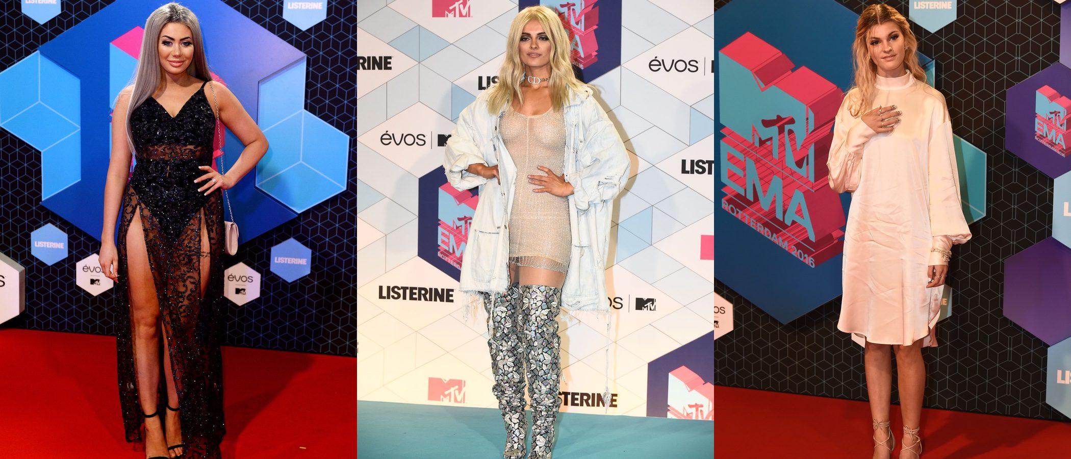 Bebe Rexha, Emma Bale y Chloe Ferry fracasan: las peor vestidas de los MTV EMA 2016