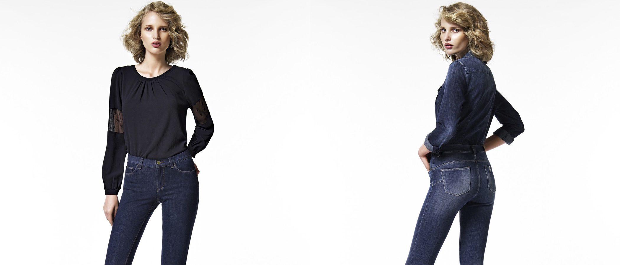 bandera Delgado caballo de Troya  Liu Jo lanza unos nuevos jeans para otoño/invierno 2016/2017 muy femeninos  y estilizados - Bekia Moda