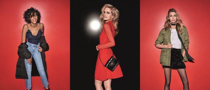 Topshop presenta su campaña navideña con Stella Maxwell y las modelos más cotizadas del momento