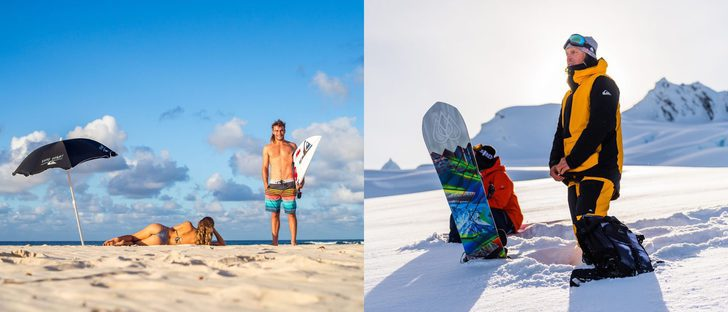 Quiksilver presenta un otoño/invierno 2016/2017 cargado de prendas para combatir el frío