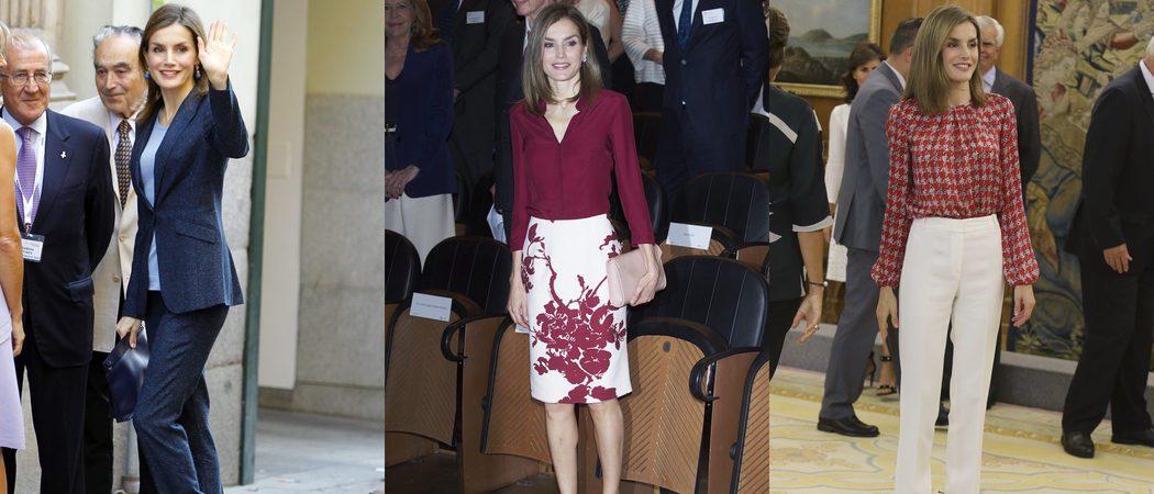 Los 7 looks de la Reina Letizia para ser la perfecta working girl