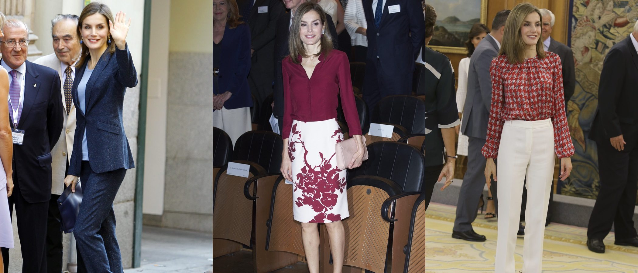 Los 7 looks de la Reina Letizia para ser la perfecta working girl