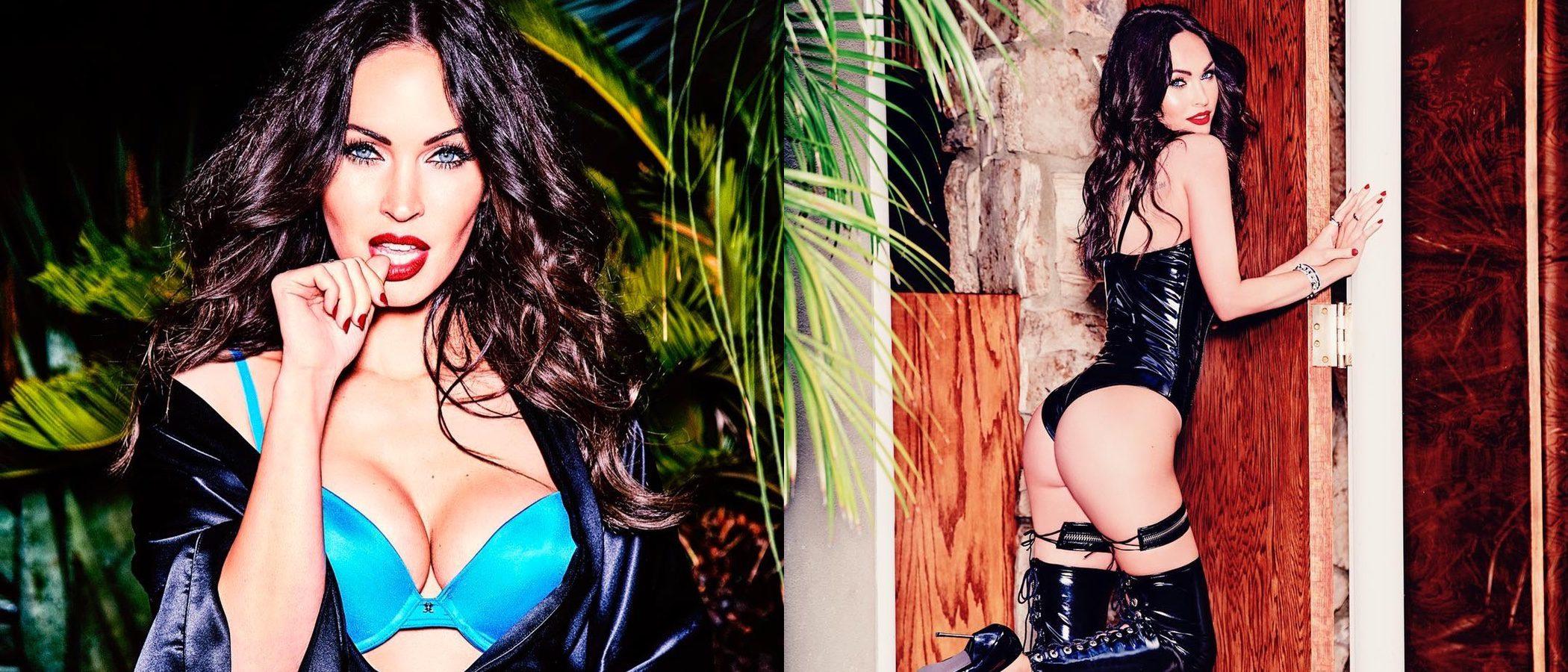 Megan Fox se luce en la nueva campaña de lencería de Frederick's of Hollywood