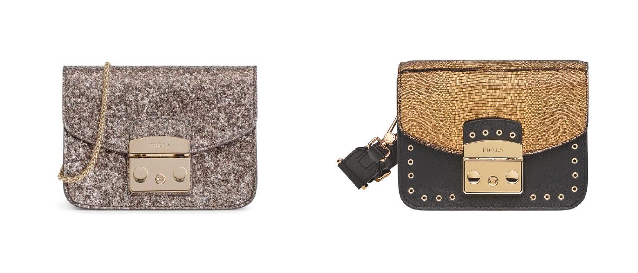 El glitter llena de brillo y glamour la colección Navidad 2016 de Furla