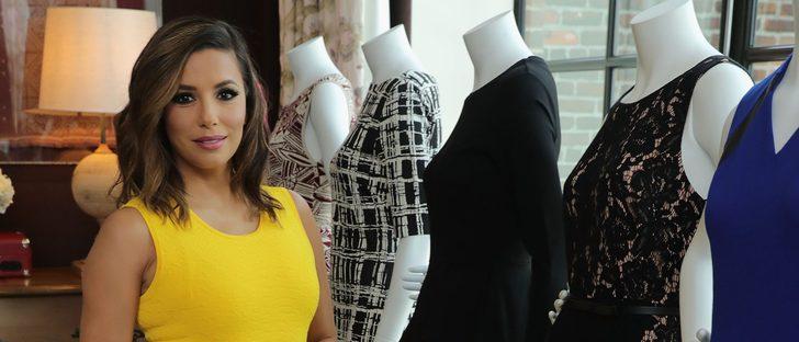 Eva Longoria vuelve a diseñar para The Limited con su primera colección Holiday 2016