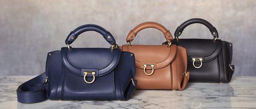 Salvatore Ferragamo presenta una nueva versión de su icónico bolso 'Sofia'