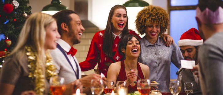 ¿Escote para la comida de Navidad en familia?
