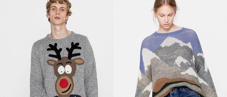 La Navidad 2016 llega a Pull&Bear con una línea de divertidos jerseys