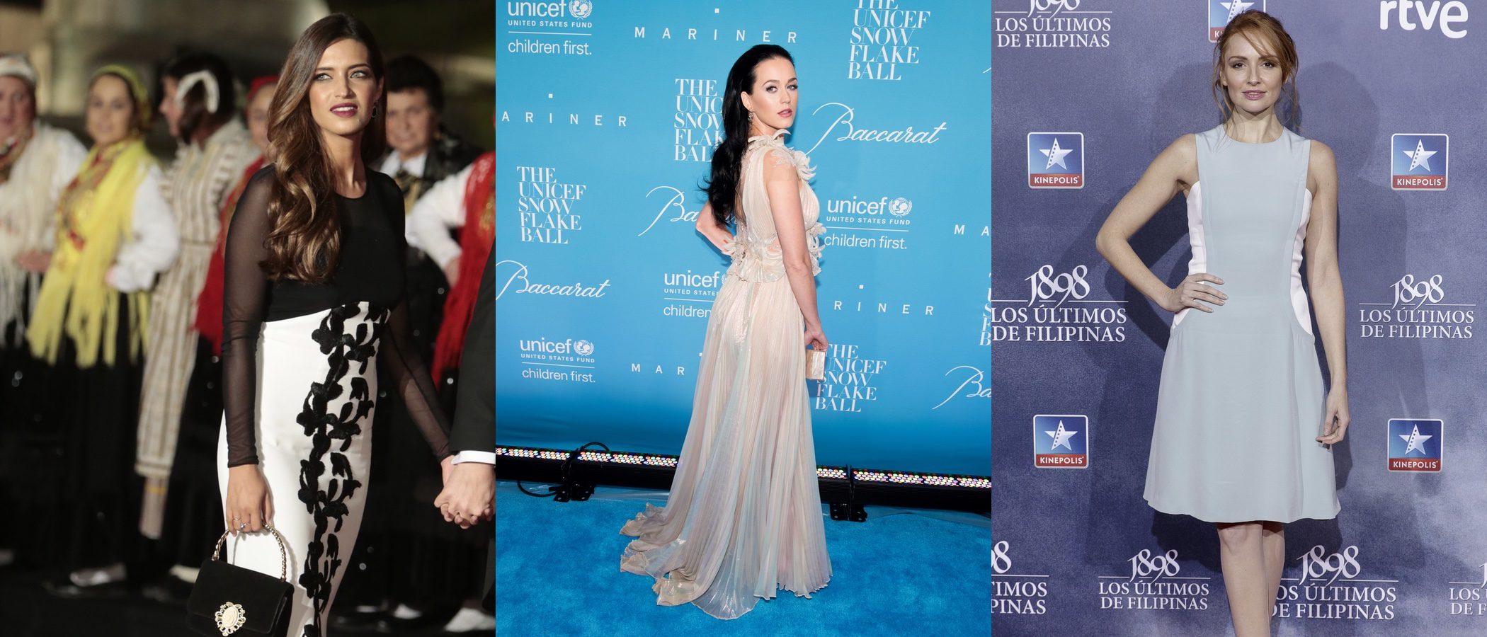 Sara Carbonero, Katy Perry y Cristina Castaño, entre las mejor vestidas de la semana