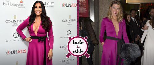 María Bravo y Laura Sánchez se decantan por el mismo vestido rosa: ¿A quién le sienta mejor?