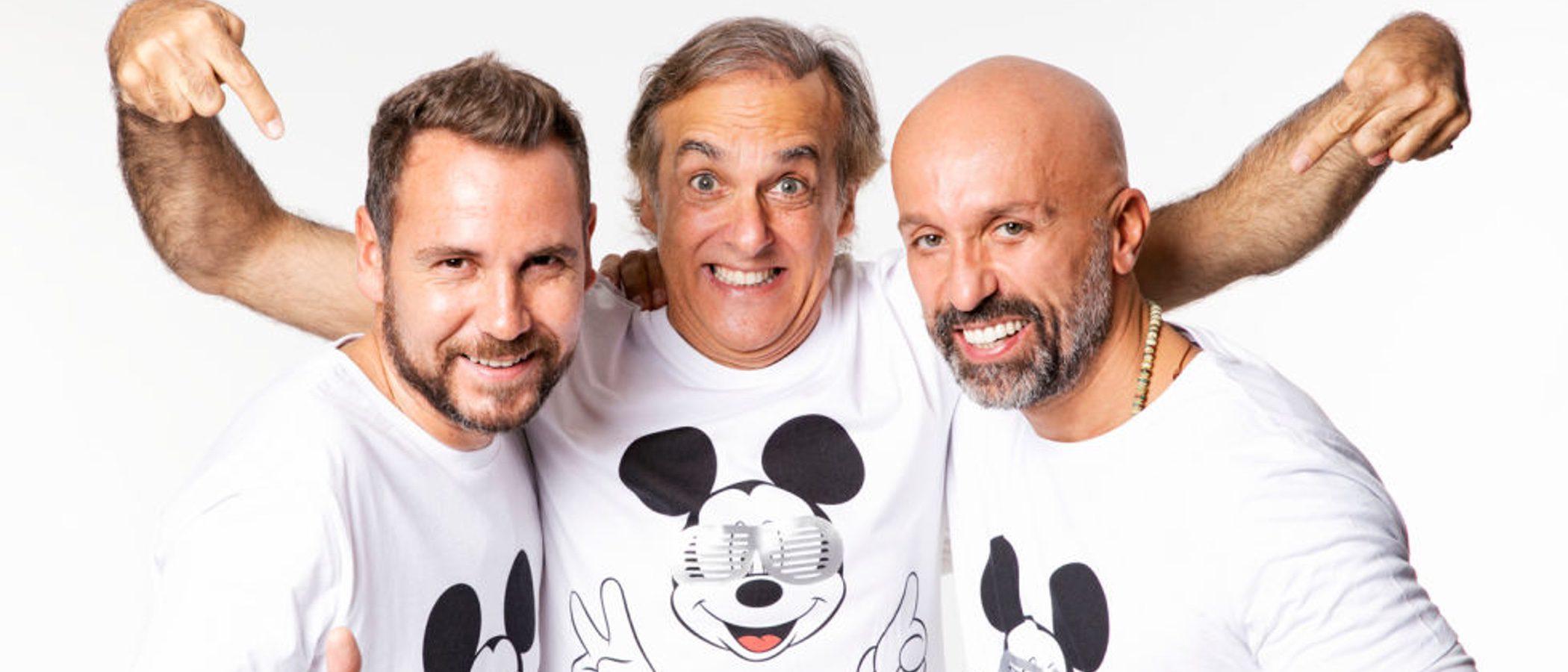 Alvarno diseña una camiseta solidaria protagonizada por Mickey Mouse y muchas celebrities