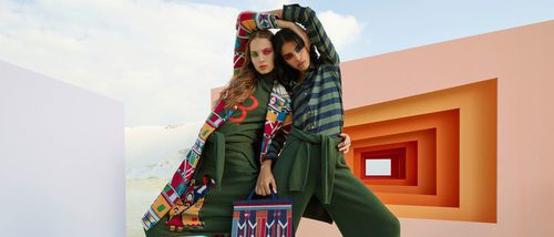 El estilo étnico y alegre llega a Benetton con Stella Jean y su otoño/invierno 2016/2017