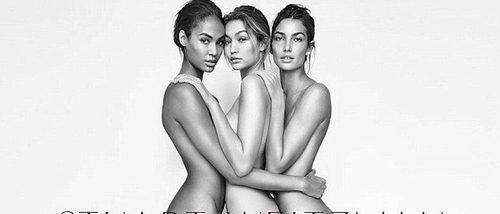 Gigi Hadid se desnuda en la campaña primavera/verano 2017 de Stuart Weitzman
