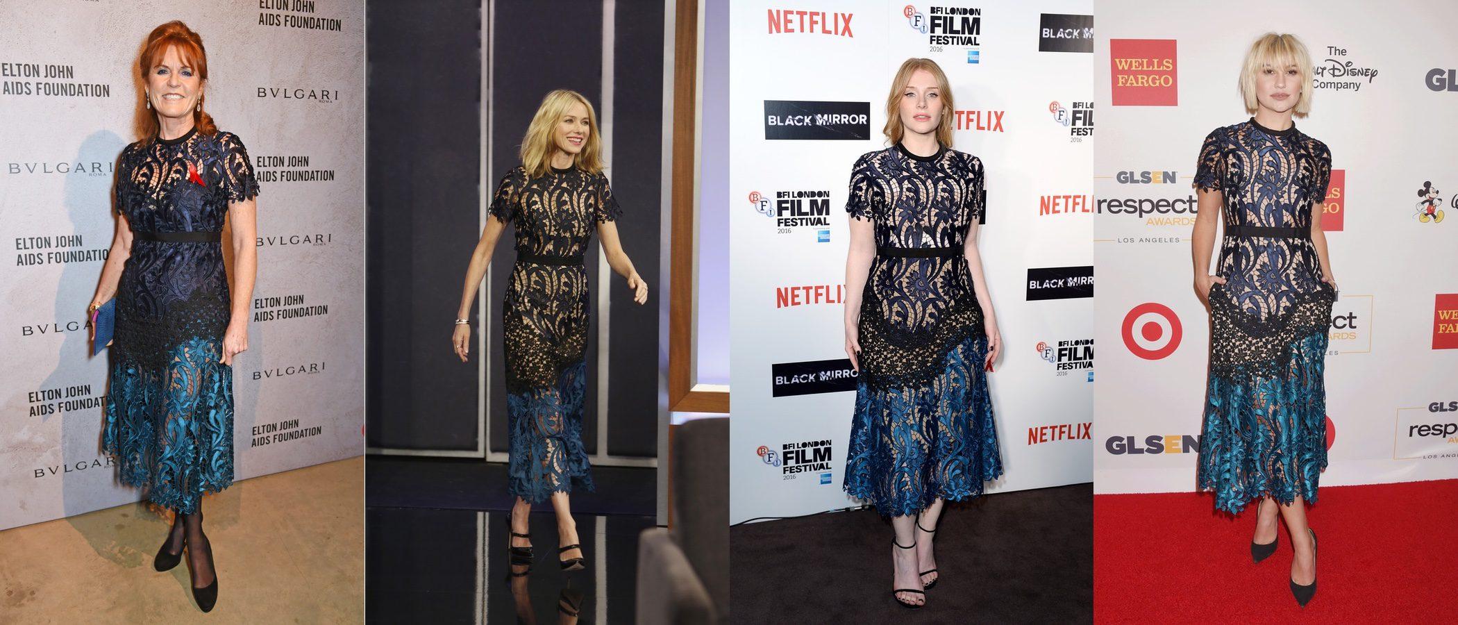 El vestido más cotizado y preferido entre las celebrities de Self-Portrait, ¿a quién le sienta mejor?