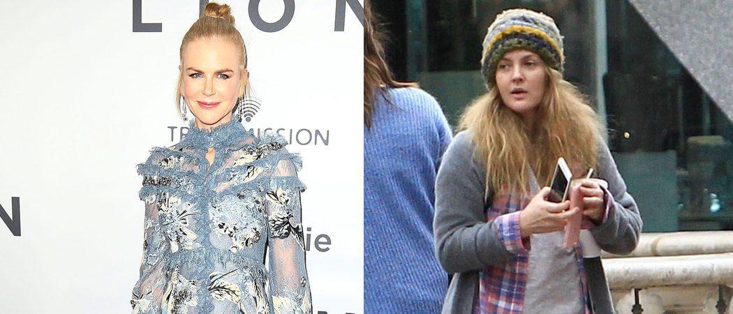 Nicole Kidman, Drew Barrymore y Concha Velasco, entre las peor vestidas de la semana