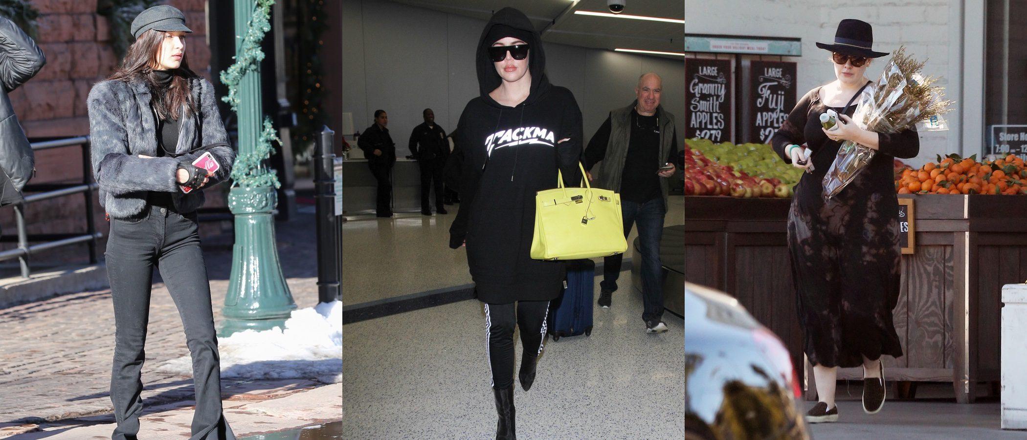 Bella Hadid, Adele y Khloe Kardashian, las peor vestidas de la última semana de 2016