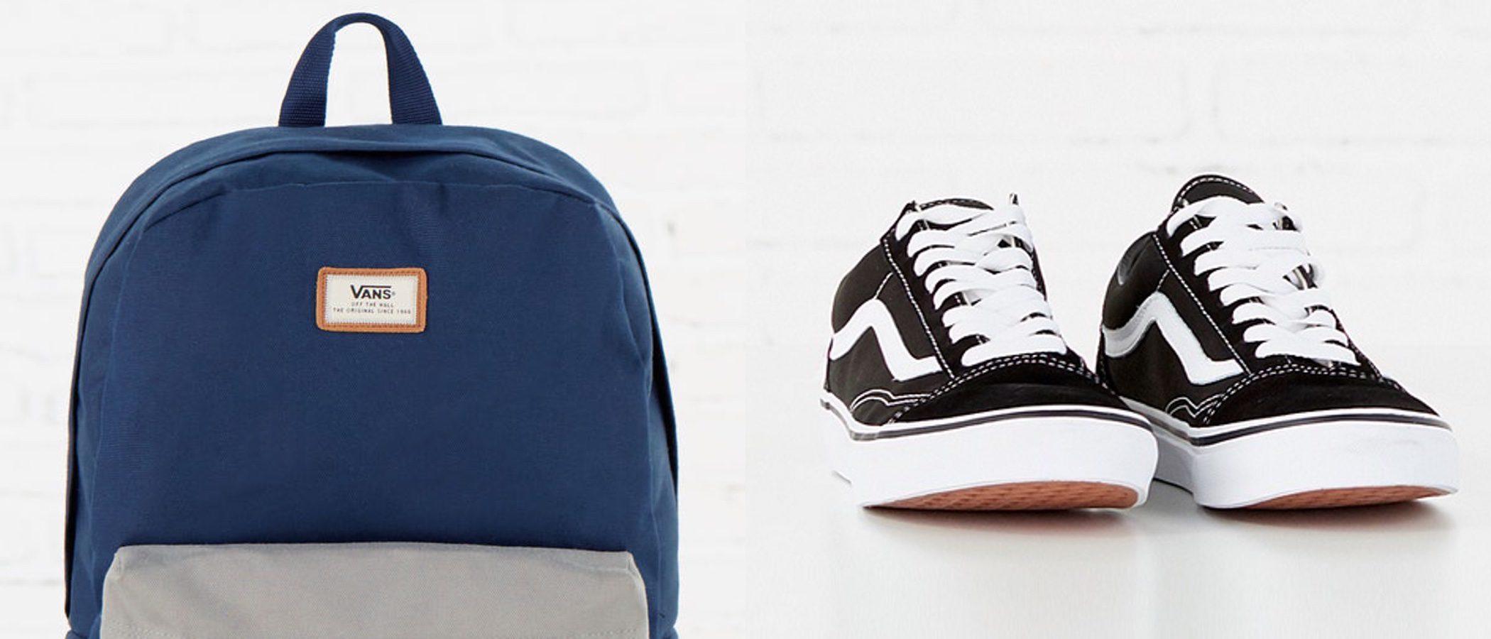 Vans diseña mochilas y zapatillas urbanas exclusivas para Springfield