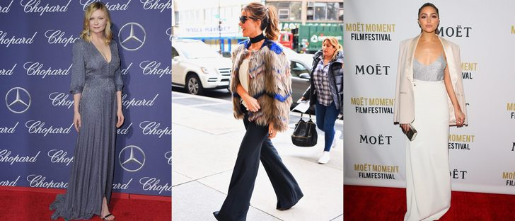 Olivia Culpo, Kirsten Dunst y Kate Beckinsale, entre las mejor vestidas de la primera semana de 2017