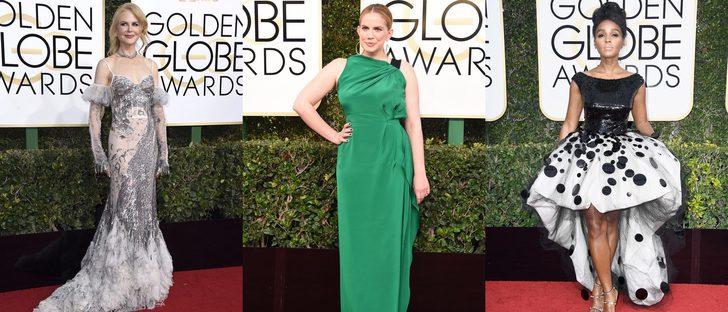 Nicole Kidman, Anna Chlumsky y Janelle Monae fracasan entre las peor vestidas de los Globos de Oro 2017