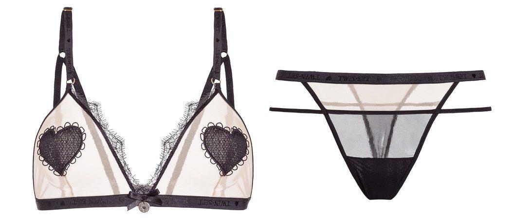Twinset Simona Barbieri lanza una línea de lencería muy romántica para San Valentín