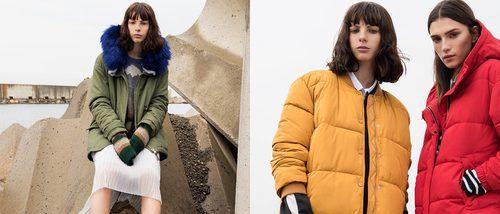 Pull&Bear vence al frío con su nueva colección de abrigos para invierno 2017