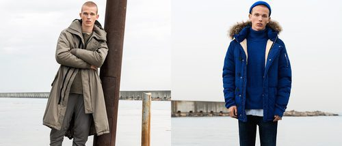 Pull&Bear llena de tendencias su colección de abrigos masculinos para invierno 2017