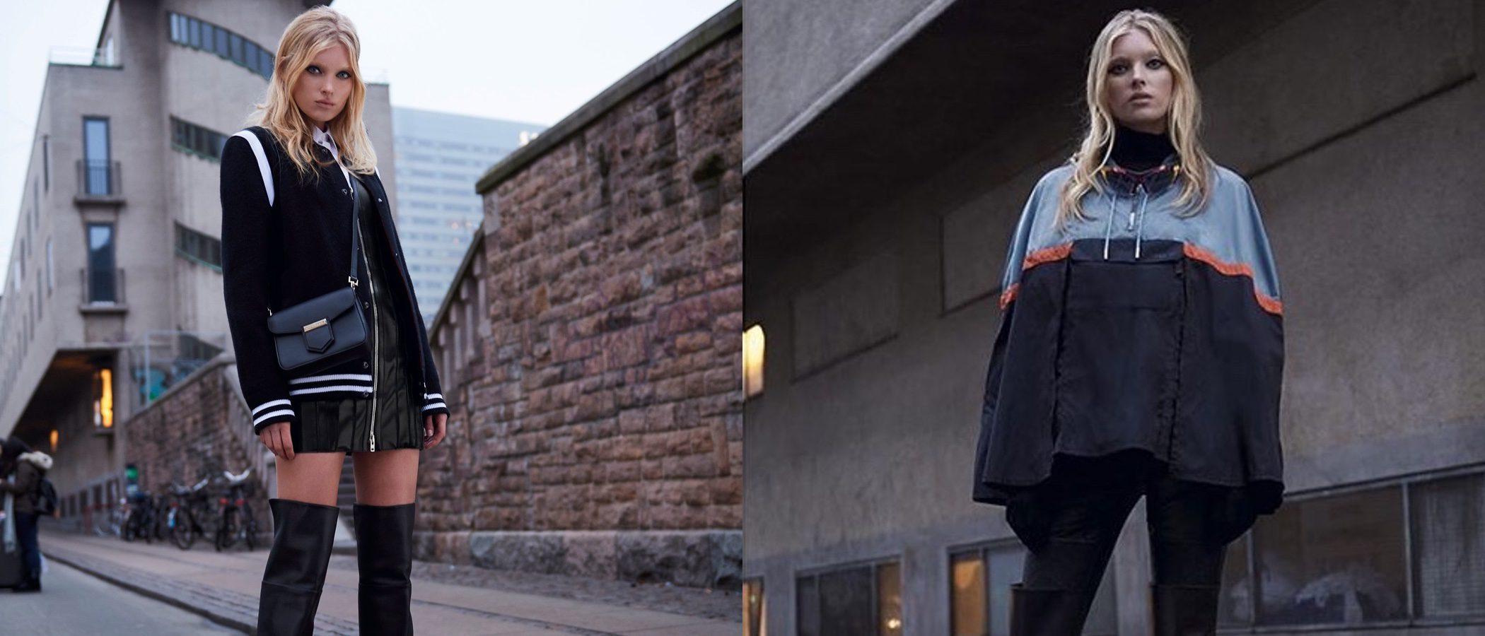 Givenchy ficha a Elsa Hosk como su nueva imagen para este invierno 2017