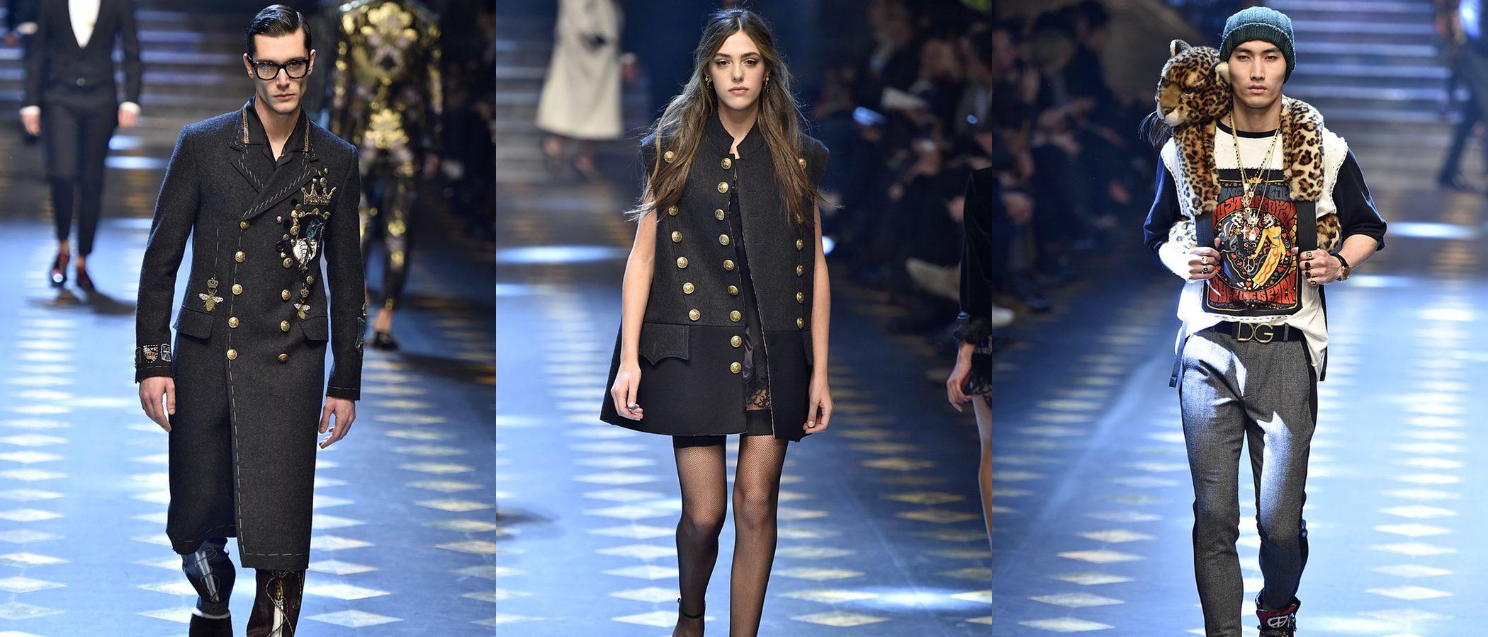 Los 'millennials' se suben a la Milán Fashion Week con el otoño/invierno 2017/2018 de Dolce & Gabbana
