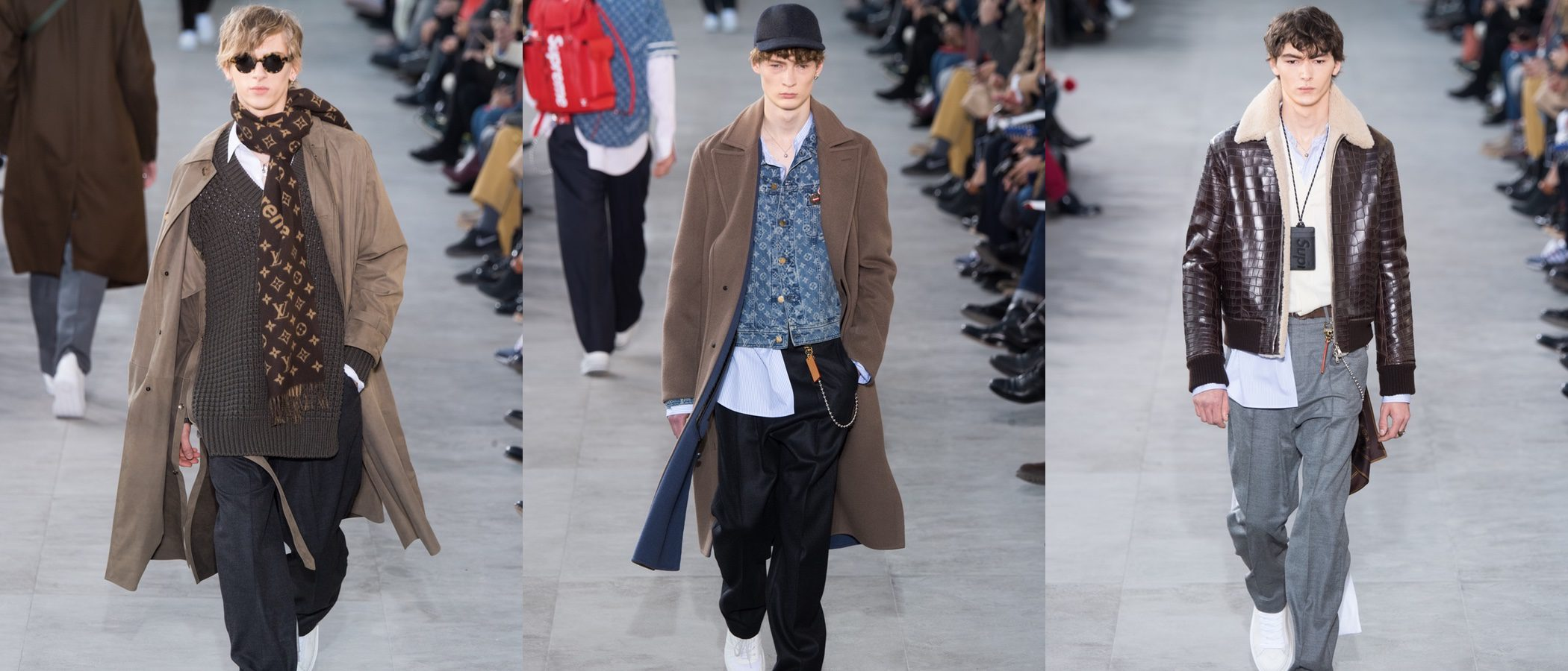 Louis Vuitton transforma su otoño/invierno 2017/2018 en skate con Supreme en la París Fashion Week