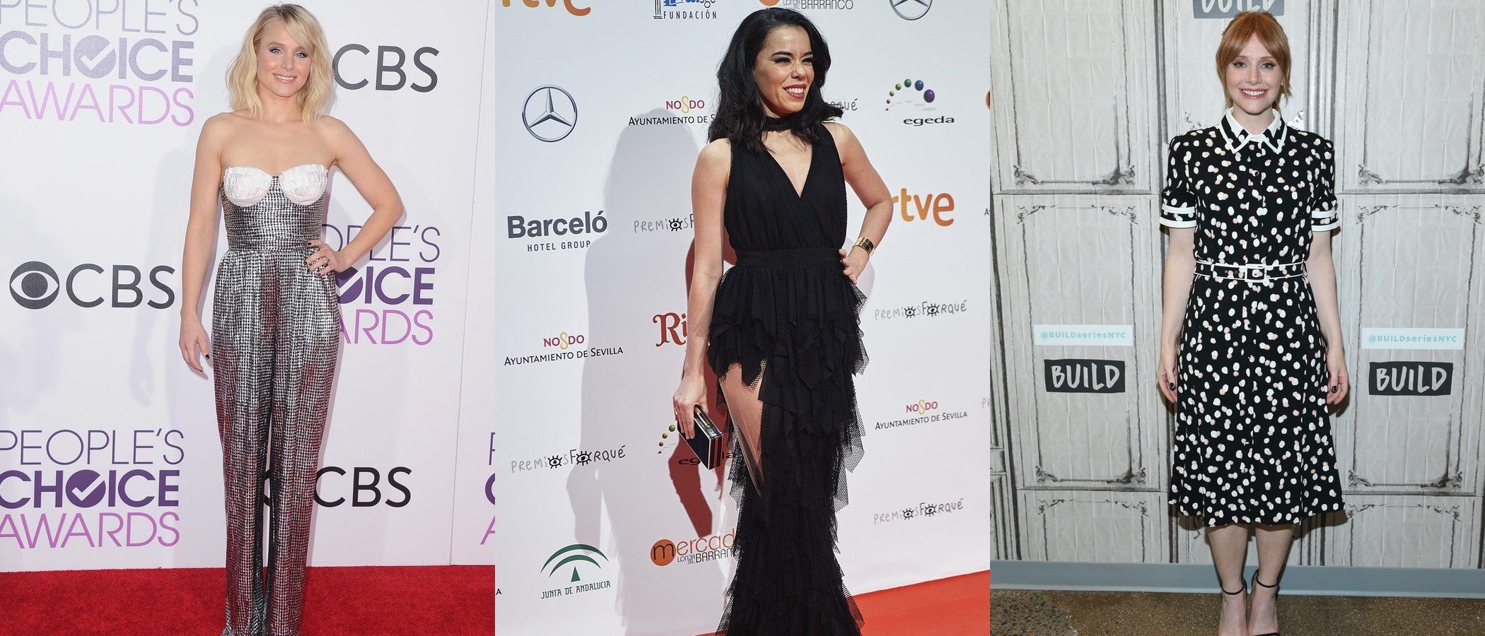 Beatriz Luengo, Bryce Dallas Howard y Kristen Bell fracansan como las peor vestidas de la semana