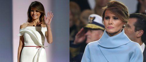 Melania Trump y su look a lo 'Jackie Kennedy' en la toma de posesión de Donald Trump