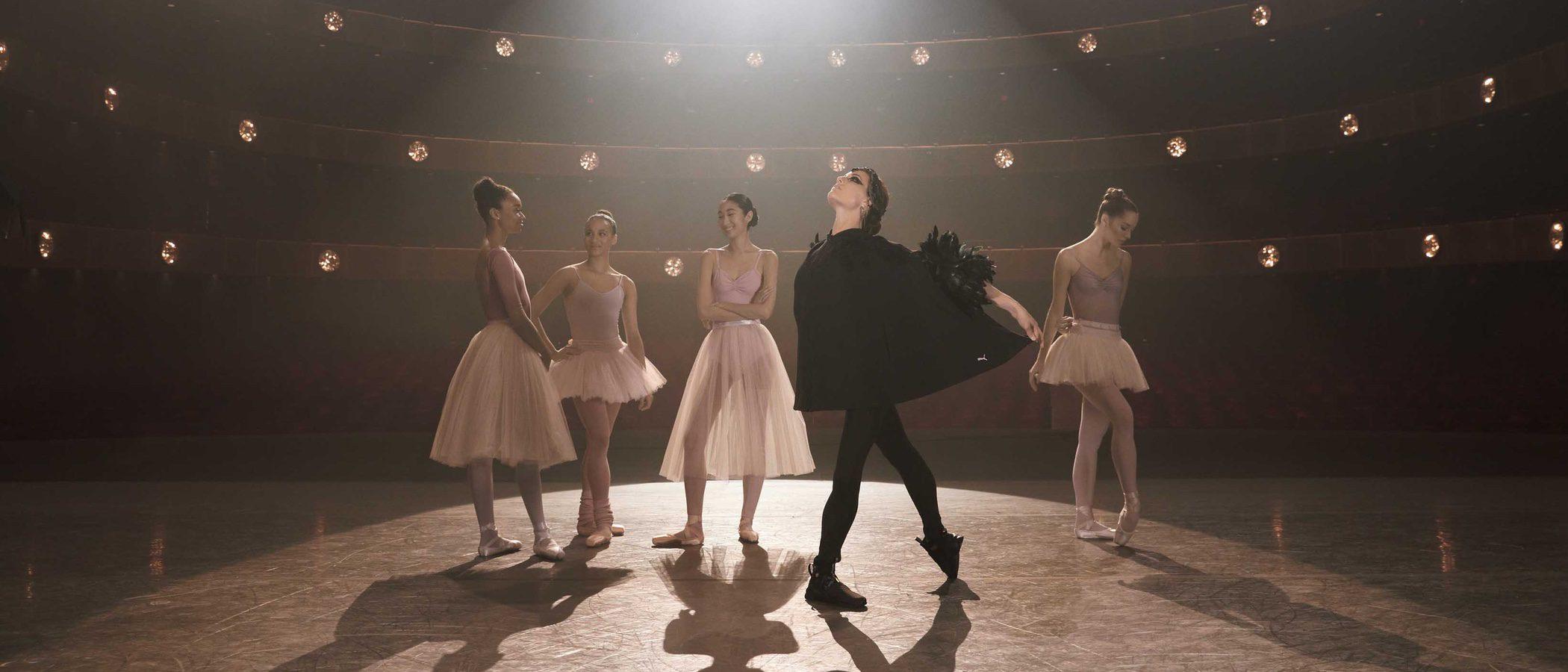 Kylie Jenner repite con Puma en primavera/verano 2017 con la colaboración del New York City Ballet