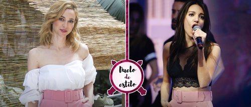 Marta Hazas y Ana Guerra apuestan por el mismo look de Zara. ¿Quién lo ha lucido mejor?