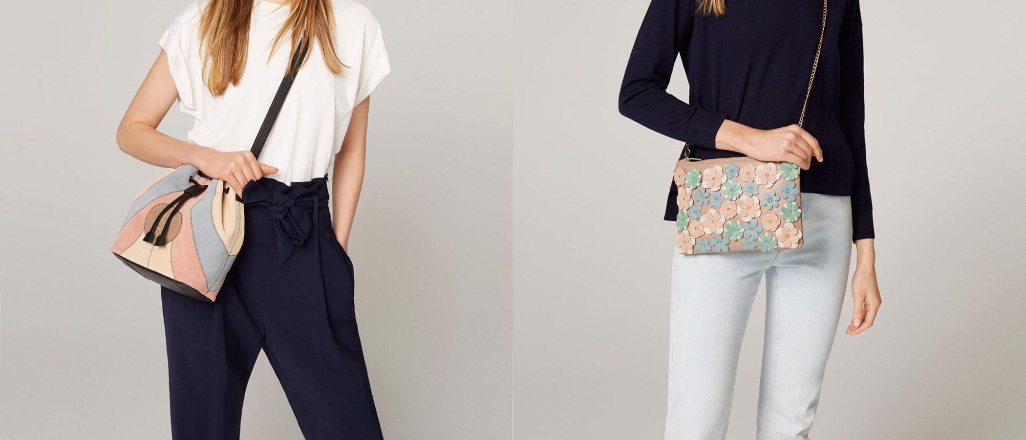 Uterqüe presenta sus nuevos bolsos exclusivos y únicos para primavera/verano 2017