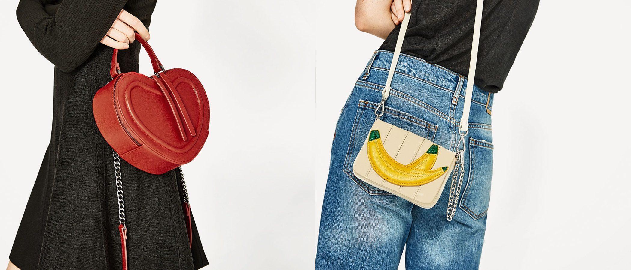 Zara llena de originalidad su nueva colección de bolsos para primavera/verano 2017