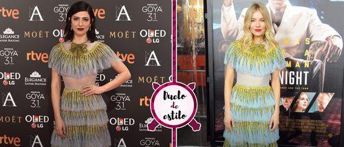 Sienna Miller y Bárbara Lennie con el mismo vestido de Gucci, ¿a quién le sienta mejor?