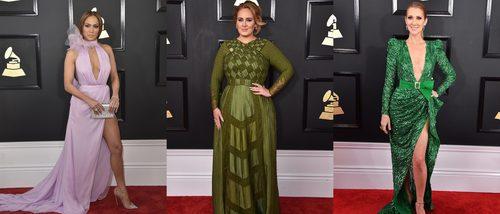 Jennifer Lopez, Adele y Celine Dion, entre las mejor vestidas de los Grammy 2017