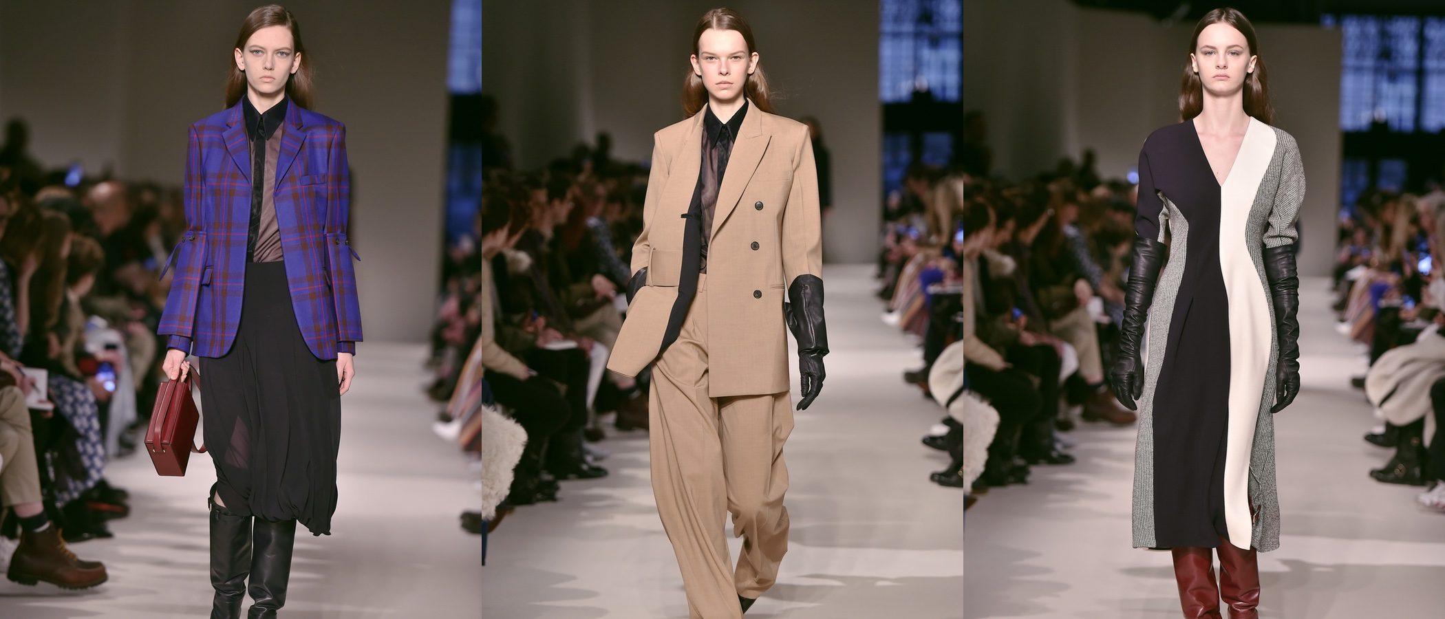 Victoria Beckham apuesta por el estilo masculino y minimal en la New York Fashion Week
