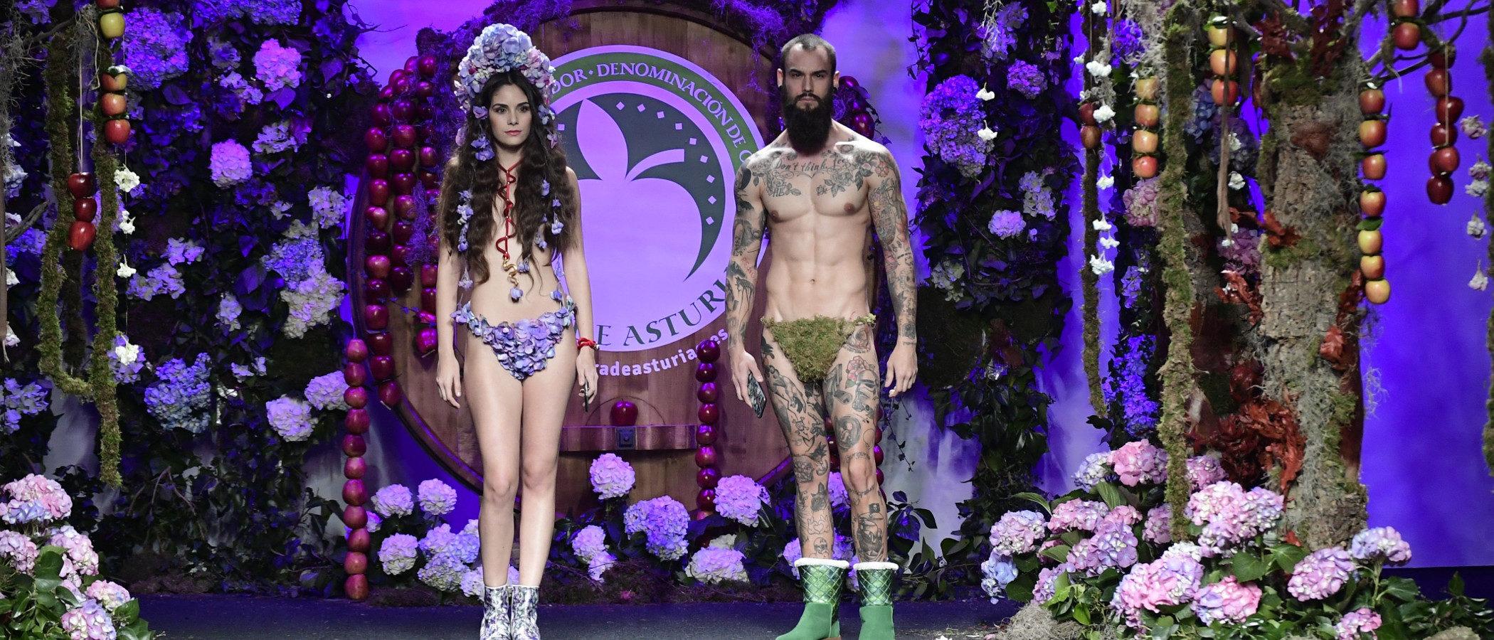 Francis Montesinos apuesta por la naturaleza asturiana para el otoño/invierno 2017/2018 en Madrid Fashion Week