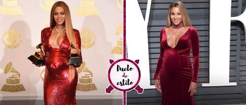 Beyoncé y Ciara se decantan por un look premamá muy parecido: ¿qué celeb gana este duelo?
