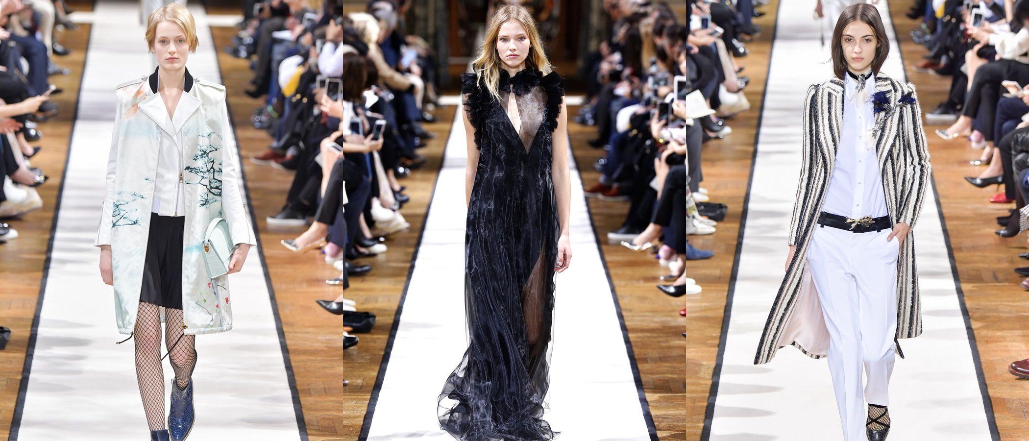 Lanvin llena de poesía su otoño/invierno 2017/2018 sobre la Paris Fashion Week