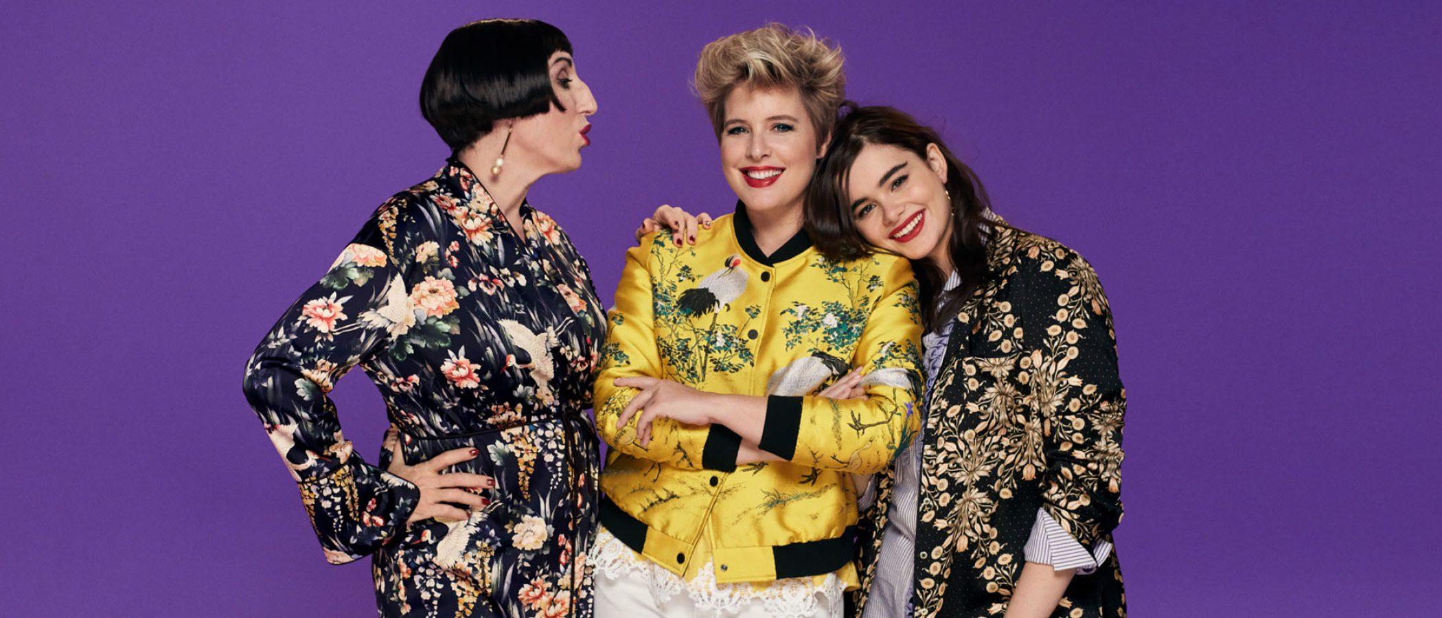 Rossy de Palma, Tania Llasera y Barbie Ferreira, protagonistas de la nueva campaña de Violeta by Mango