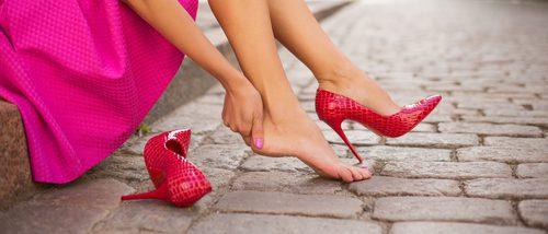 Cómo afecta la altura del tacón a tus pies