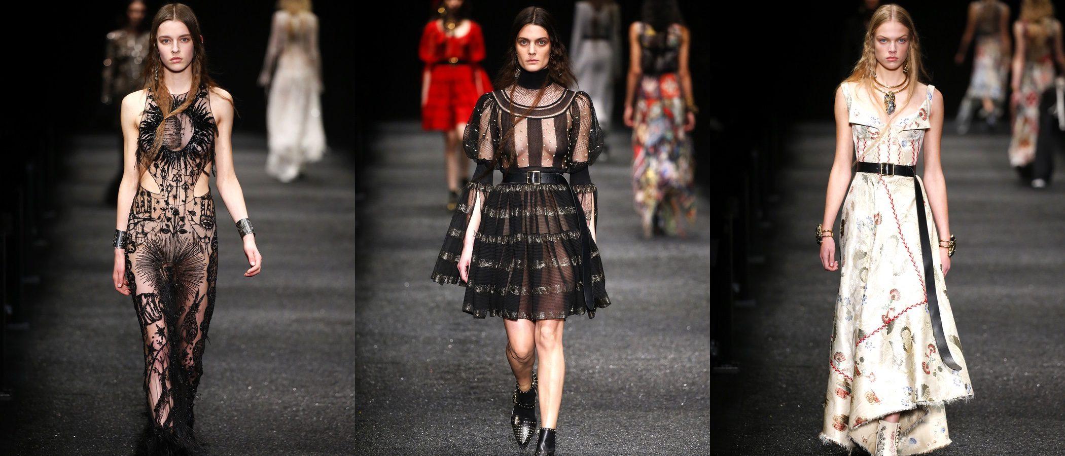 Alexander McQueen lleva la mágica tradición británica a Paris Fashion Week con su otoño/invierno 2017/2018